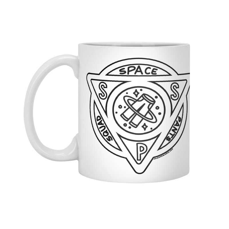 Space Pants Squad (B&W) Accessories Standard Mug by Juleah Kaliski Designs