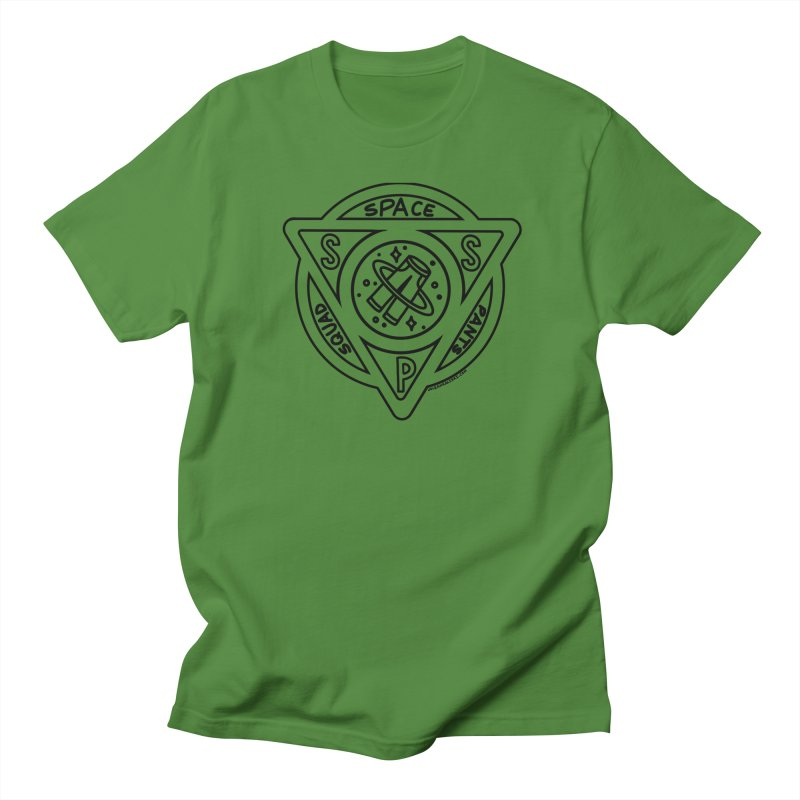 Space Pants Squad (B&W) Men's T-Shirt by Juleah Kaliski Designs