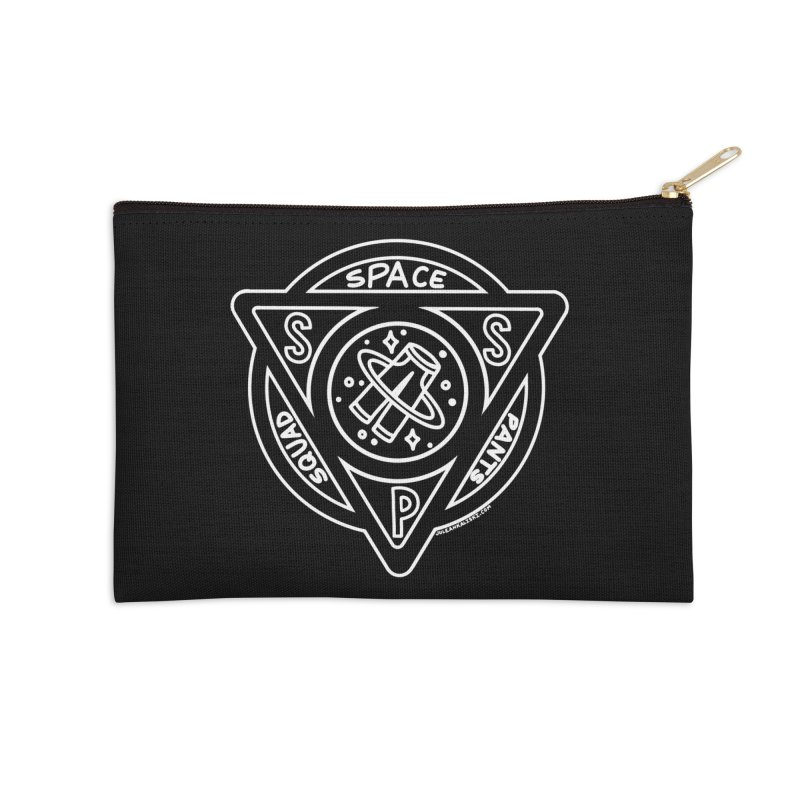 Space Pants Squad (Dark) Accessories Zip Pouch by Juleah Kaliski Designs