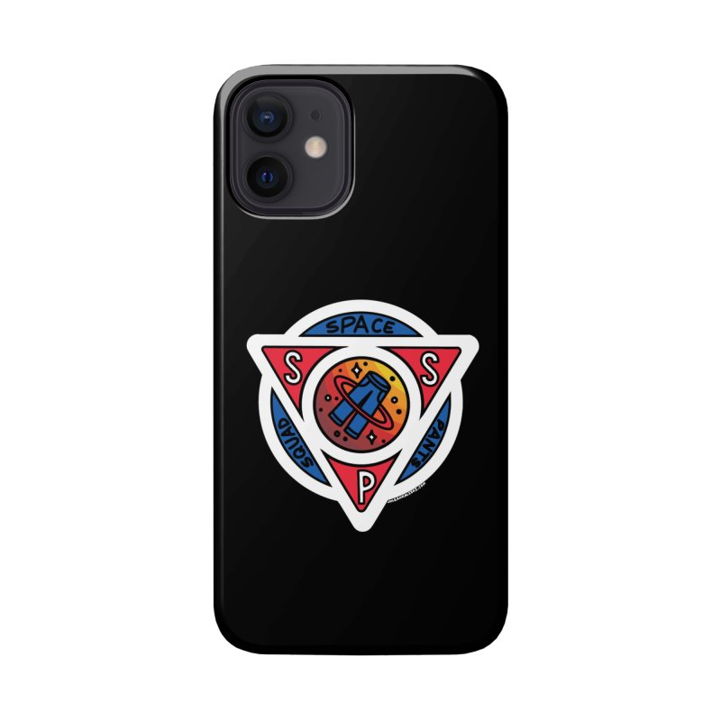 Space Pants Squad (Full Color) Accessories Phone Case by Juleah Kaliski Designs