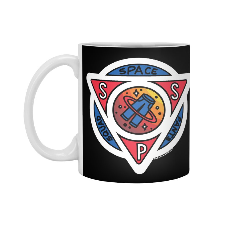 Space Pants Squad (Full Color) Accessories Mug by Juleah Kaliski Designs