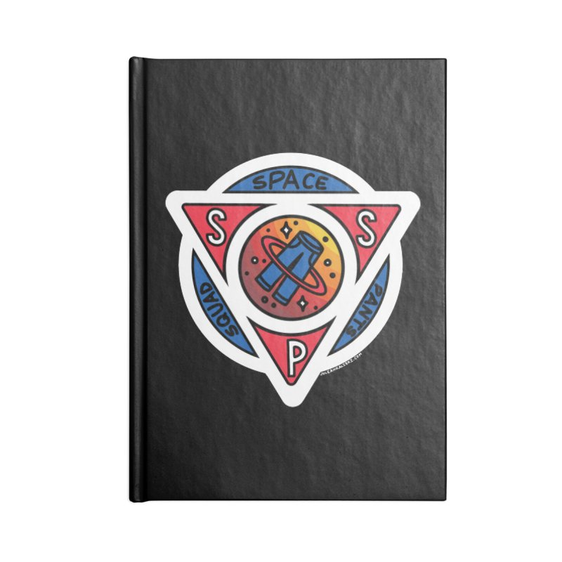 Space Pants Squad (Full Color) Accessories Lined Journal Notebook by Juleah Kaliski Designs