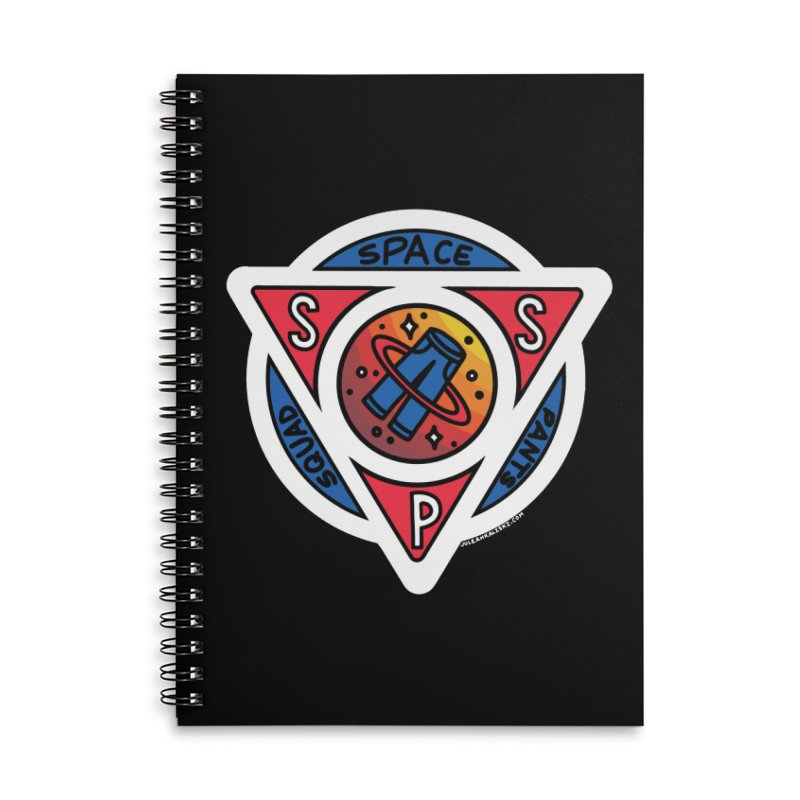 Space Pants Squad (Full Color) Accessories Lined Spiral Notebook by Juleah Kaliski Designs