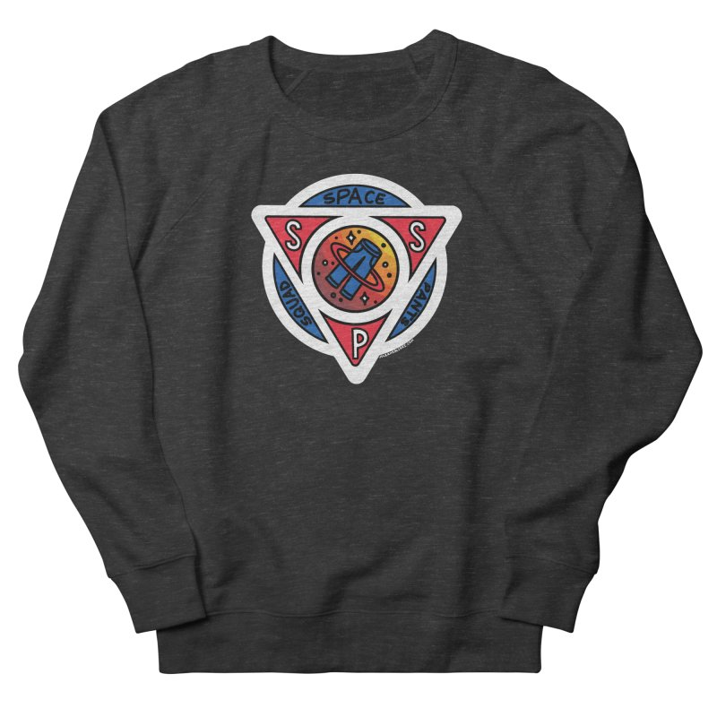 Space Pants Squad (Full Color) Women's French Terry Sweatshirt by Juleah Kaliski Designs