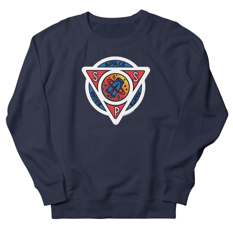 Space Pants Squad (Full Color) Men's French Terry Sweatshirt by Juleah Kaliski Designs
