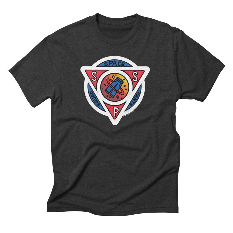 Space Pants Squad (Full Color) Men's Triblend T-Shirt by Juleah Kaliski Designs