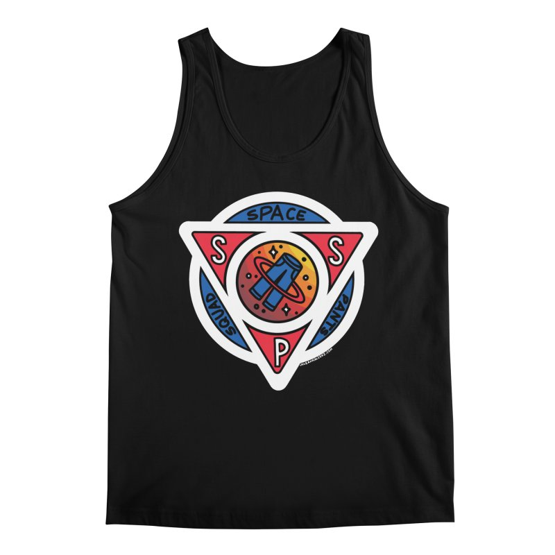 Space Pants Squad (Full Color) Men's Regular Tank by Juleah Kaliski Designs