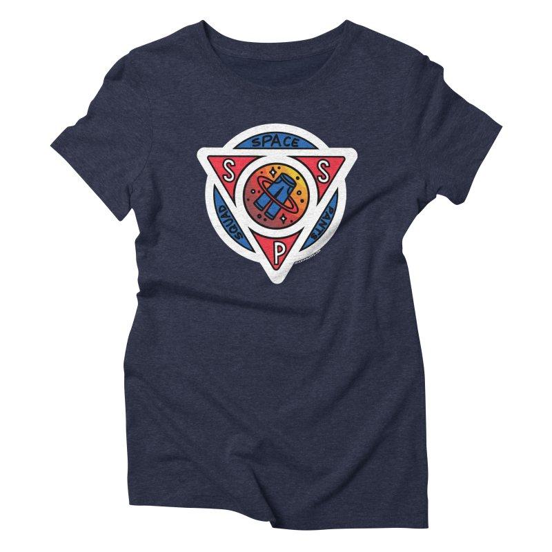 Space Pants Squad (Full Color) Women's T-Shirt by Juleah Kaliski Designs