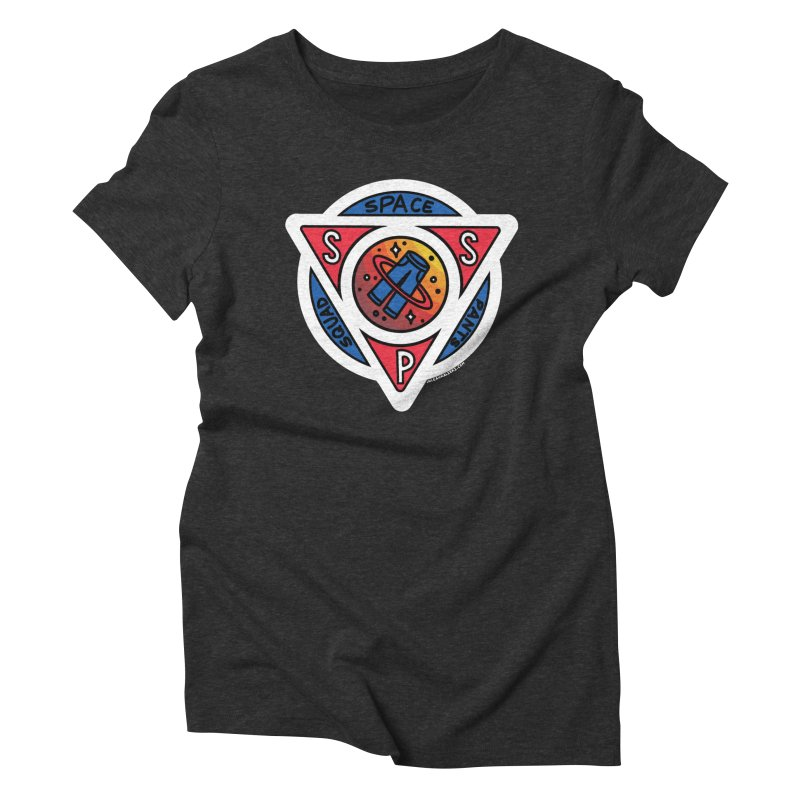 Space Pants Squad (Full Color) Women's Triblend T-Shirt by Juleah Kaliski Designs