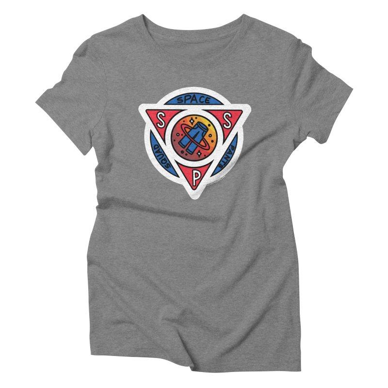 Space Pants Squad (Full Color) Women's Triblend T-Shirt by Juleah Kaliski Designs