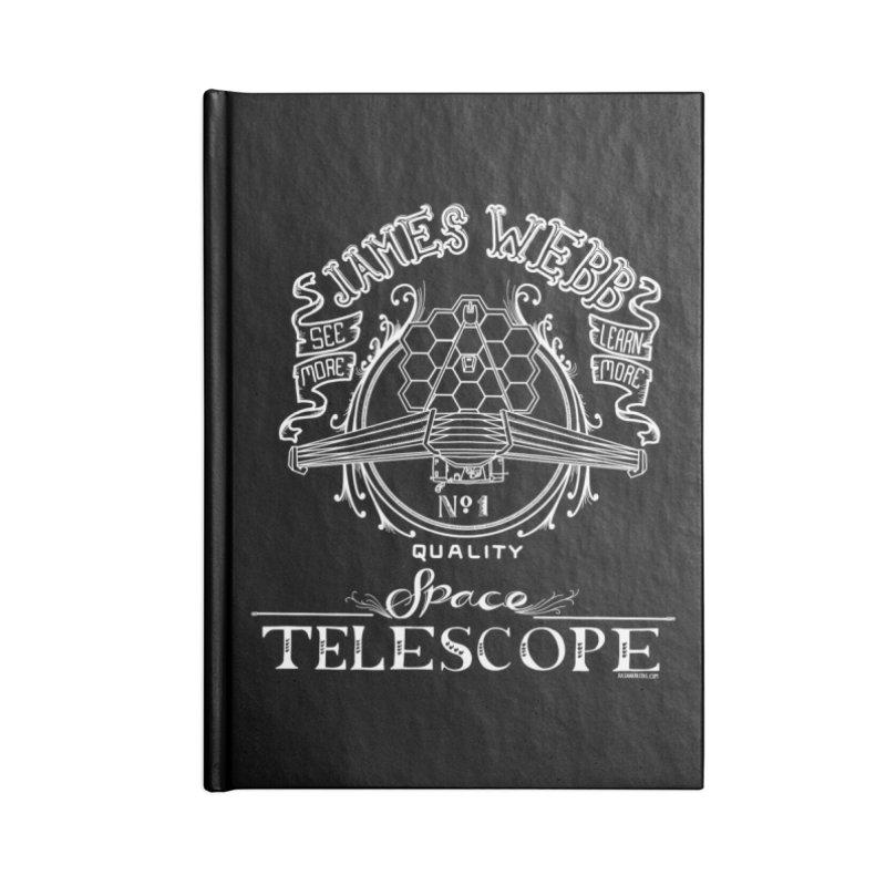 James Webb Space Telescope Accessories Lined Journal Notebook by Juleah Kaliski Designs