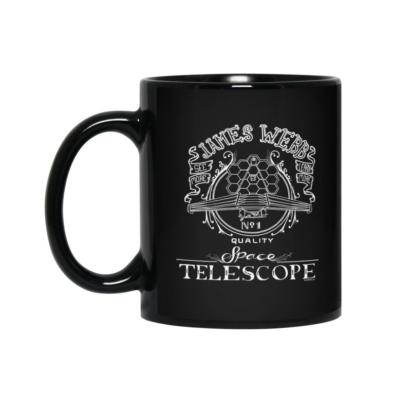 James Webb Space Telescope Accessories Mug by Juleah Kaliski Designs