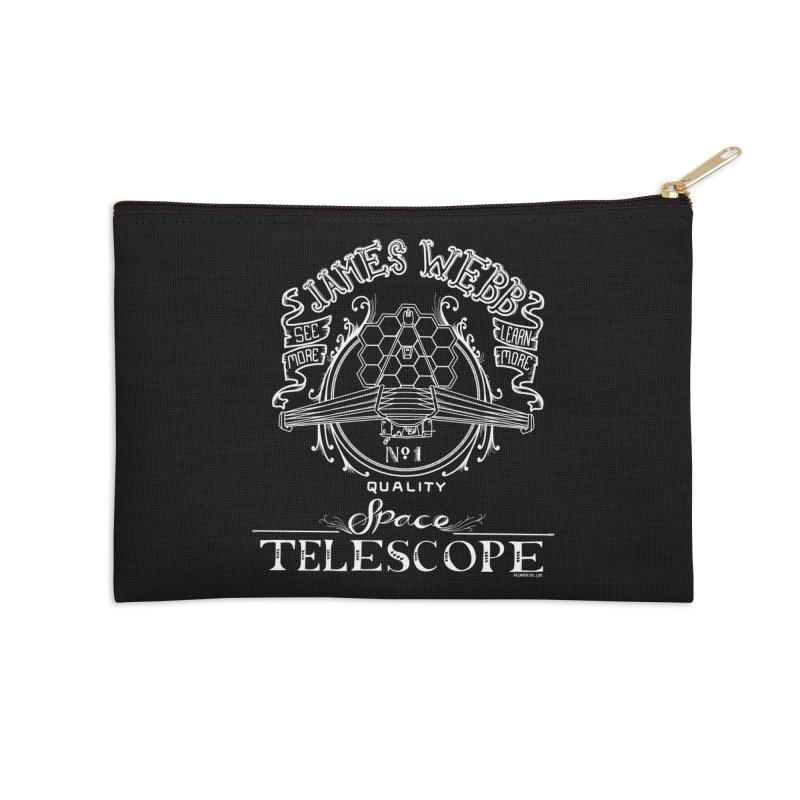 James Webb Space Telescope Accessories Zip Pouch by Juleah Kaliski Designs