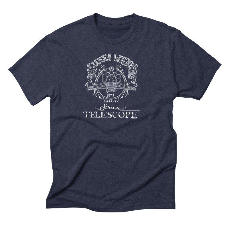 James Webb Space Telescope Men's Triblend T-Shirt by Juleah Kaliski Designs