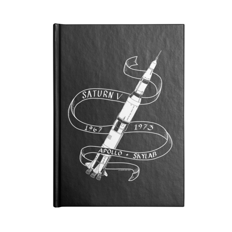 Saturn V Accessories Notebook by Juleah Kaliski Designs
