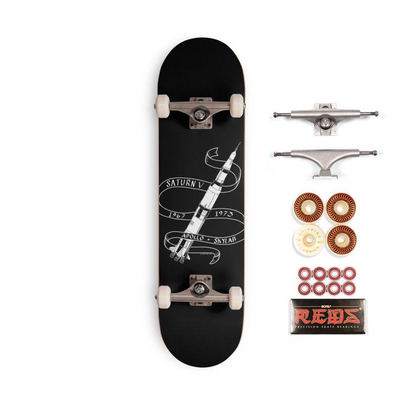 Saturn V Accessories Skateboard by Juleah Kaliski Designs