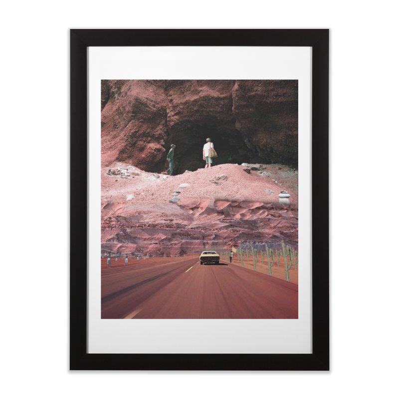 Overturned Home Framed Fine Art Print by JULEZZ/ART