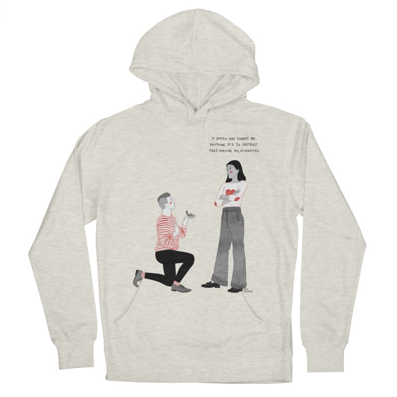 Opera Men's French Terry Pullover Hoody by Julia Bernhard