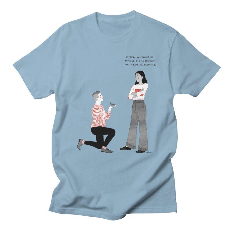 Opera Women's Regular Unisex T-Shirt by Julia Bernhard