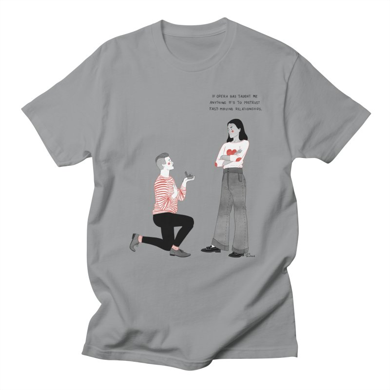 Opera Men's Regular T-Shirt by Julia Bernhard