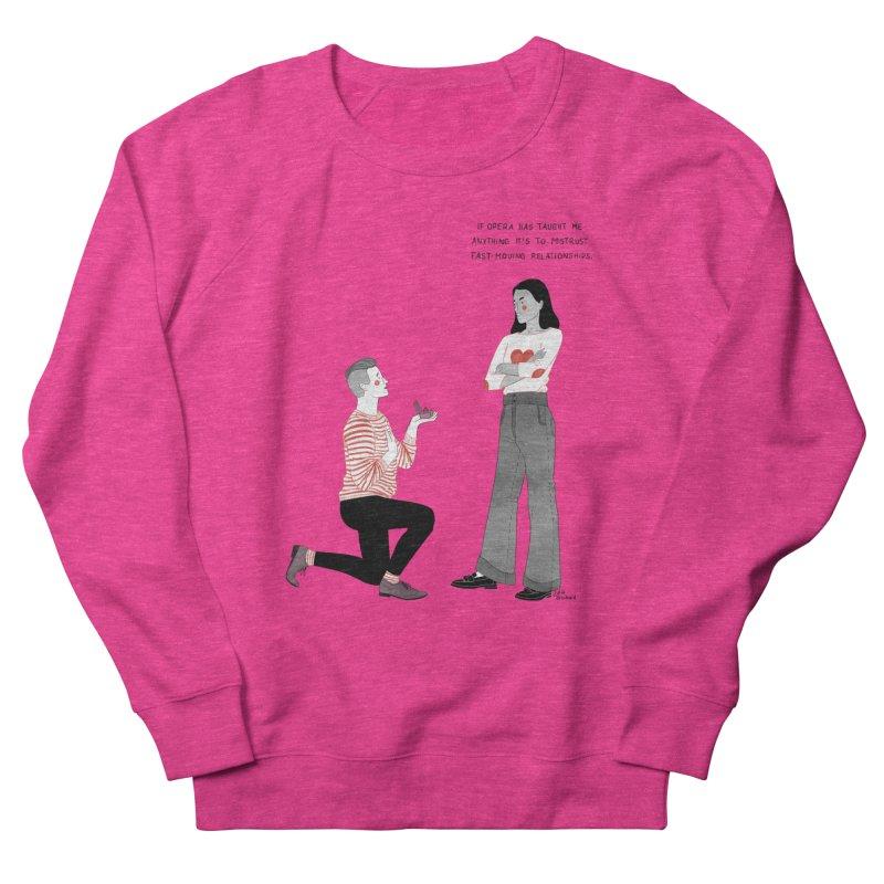 Opera Women's French Terry Sweatshirt by Julia Bernhard