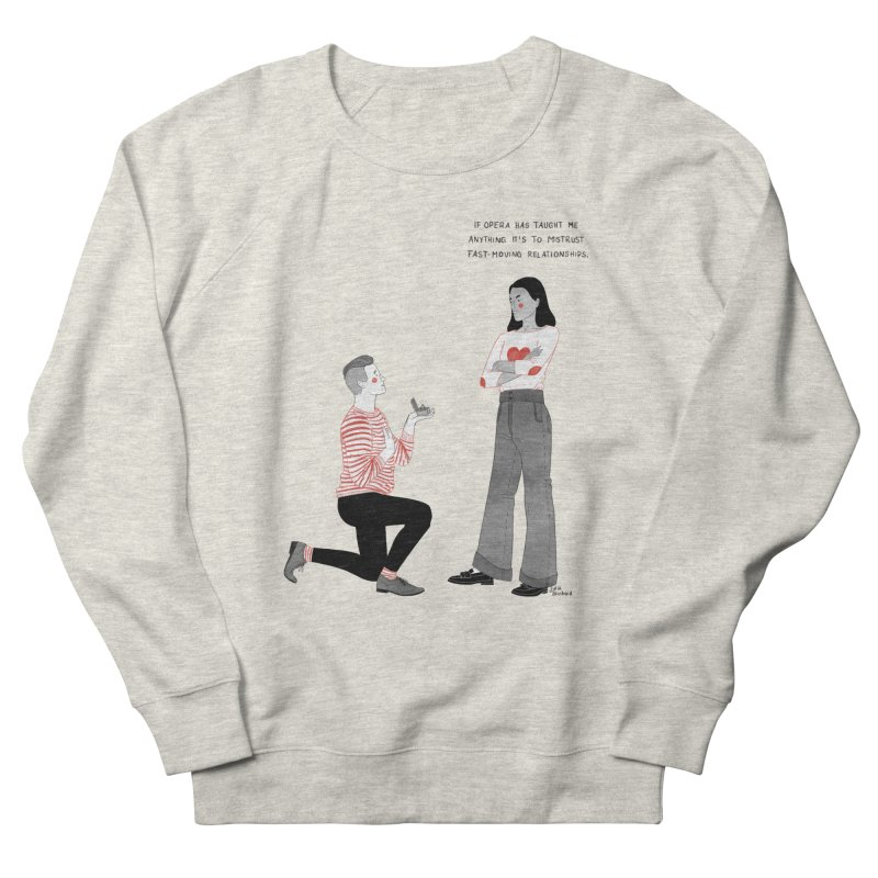 Opera Men's French Terry Sweatshirt by Julia Bernhard