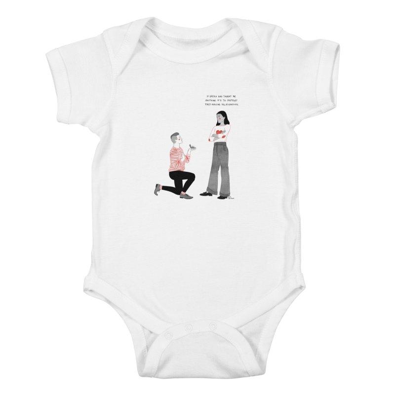 Opera Kids Baby Bodysuit by Julia Bernhard