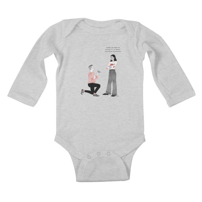 Opera Kids Baby Longsleeve Bodysuit by Julia Bernhard