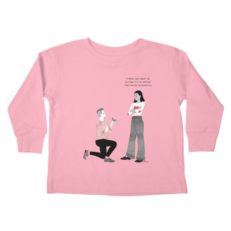 Opera Kids Toddler Longsleeve T-Shirt by Julia Bernhard