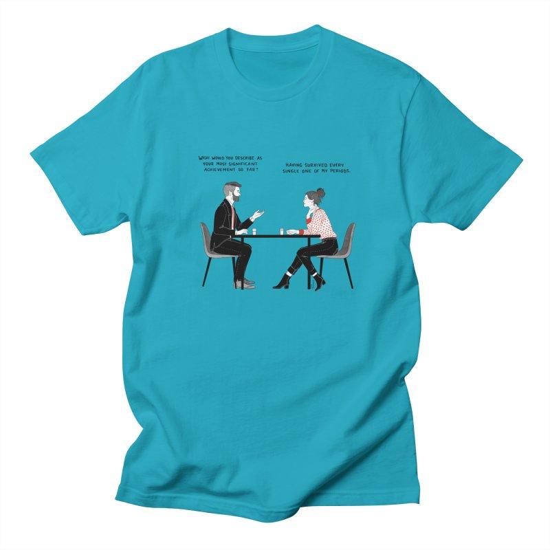 Period. Women's Regular Unisex T-Shirt by Julia Bernhard