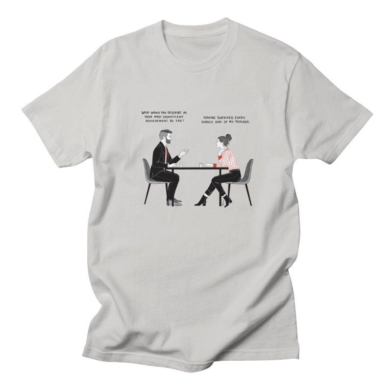 Period. Men's Regular T-Shirt by Julia Bernhard