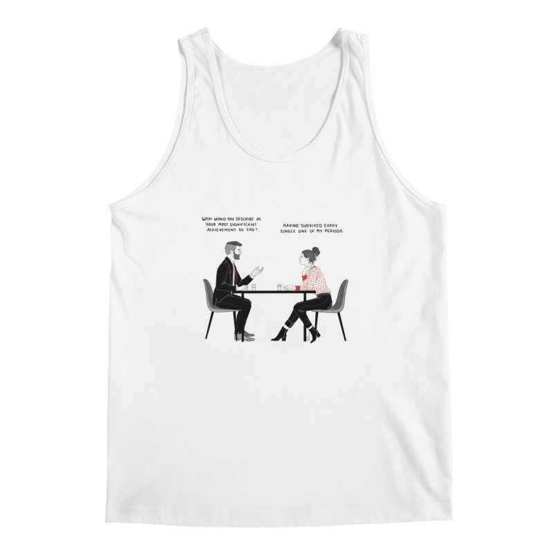 Period. Men's Regular Tank by Julia Bernhard