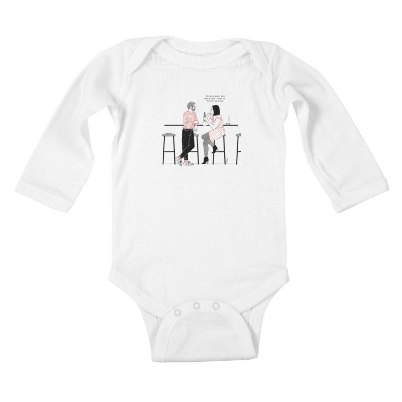 Friday Night Kids Baby Longsleeve Bodysuit by Julia Bernhard