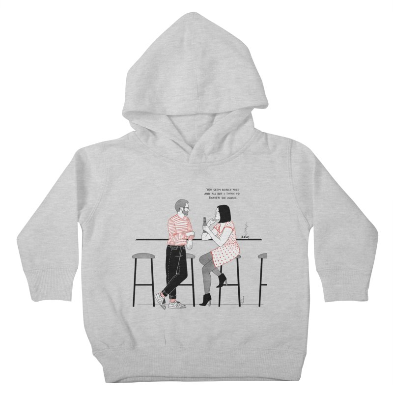 Friday Night Kids Toddler Pullover Hoody by Julia Bernhard