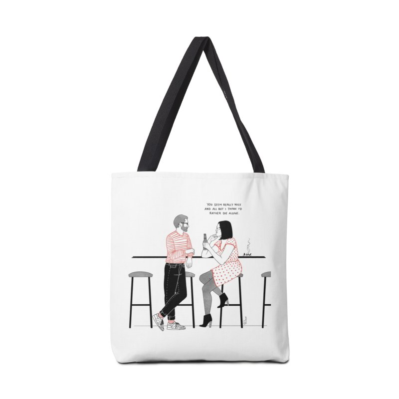 Friday Night Accessories Tote Bag Bag by Julia Bernhard