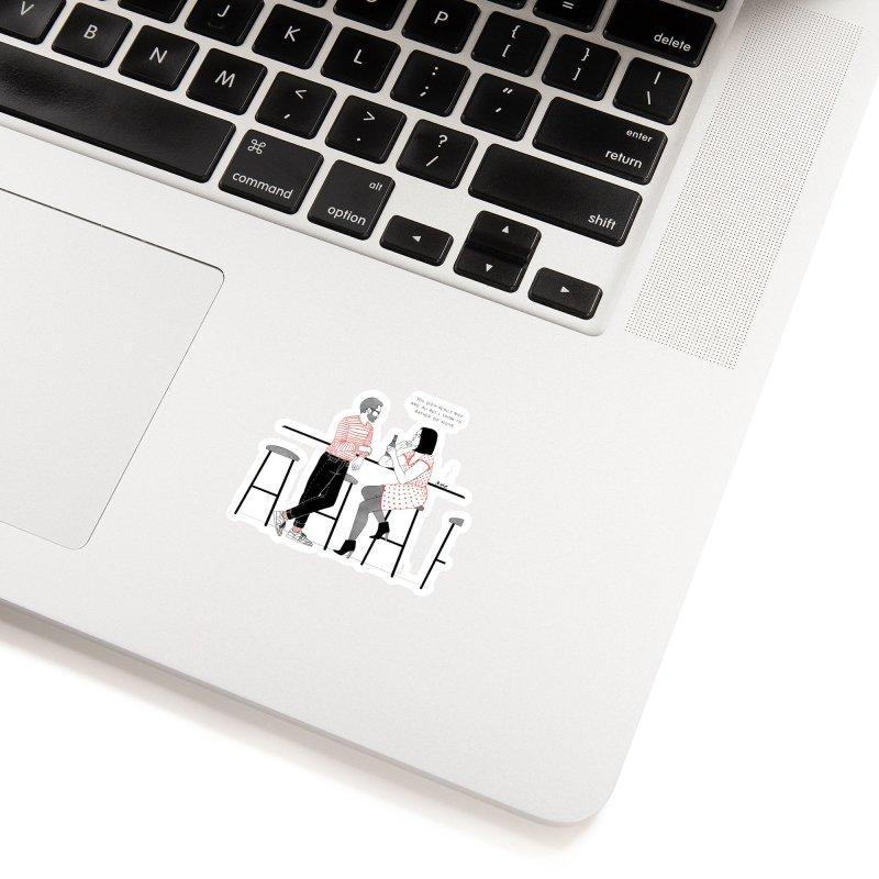 Friday Night Accessories Sticker by Julia Bernhard