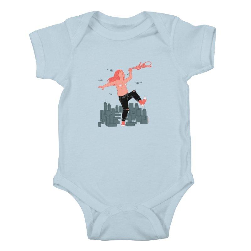 Freedom Kids Baby Bodysuit by Julia Bernhard