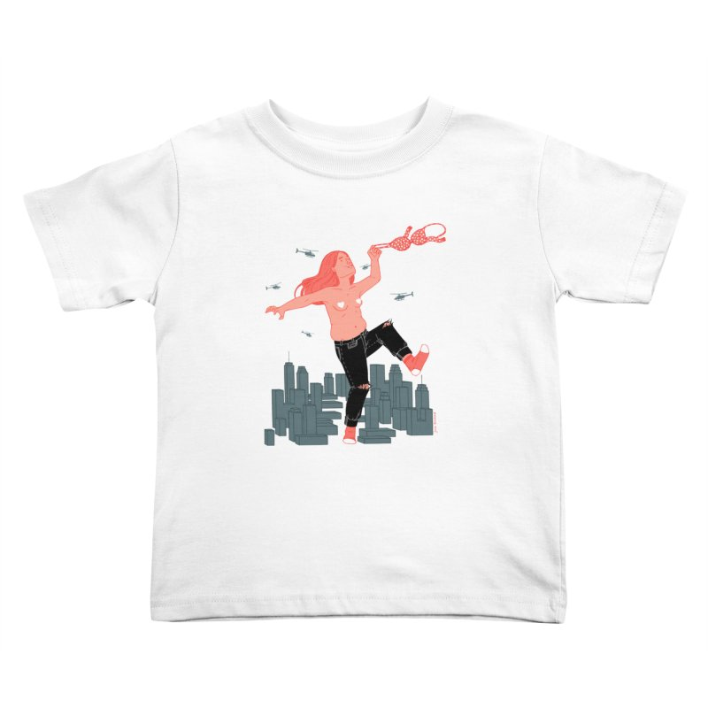 Freedom Kids Toddler T-Shirt by Julia Bernhard