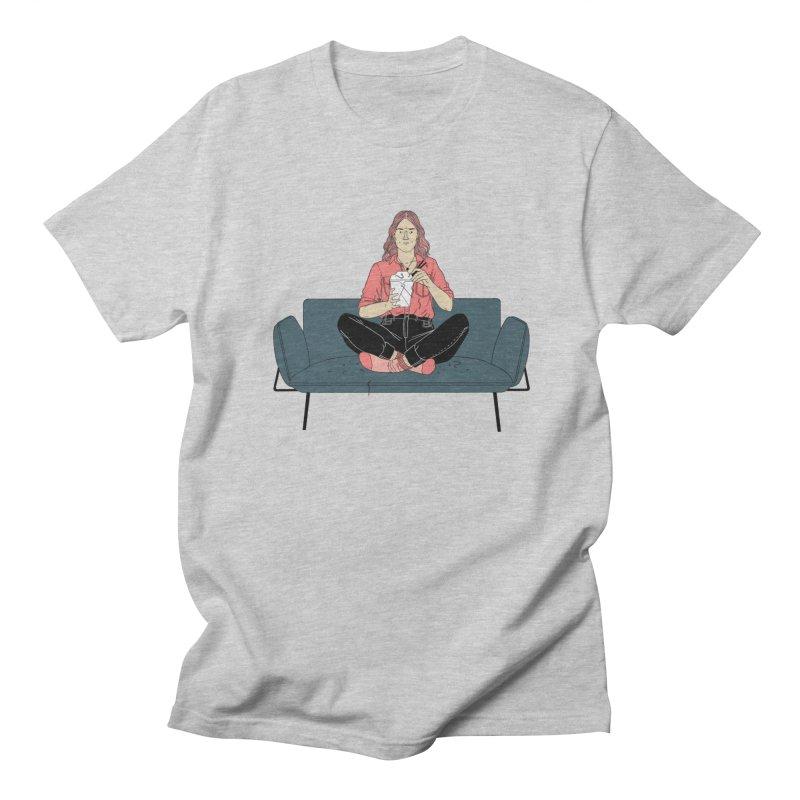 Noodles Men's Regular T-Shirt by Julia Bernhard