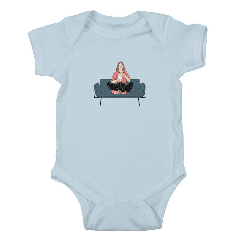 Noodles Kids Baby Bodysuit by Julia Bernhard