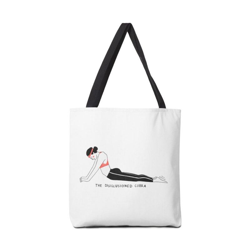 Yoga for sad people Accessories Bag by juliabernhard's Artist Shop