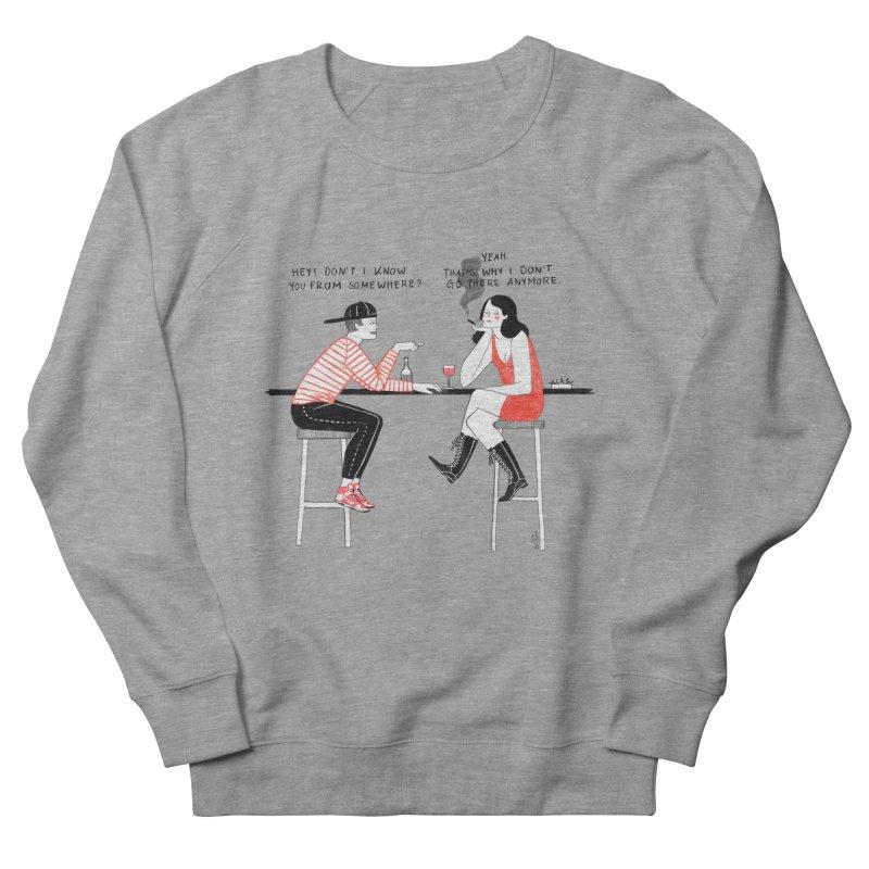 Friday Night Men's French Terry Sweatshirt by juliabernhard's Artist Shop