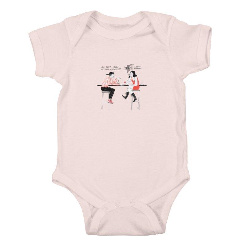 Friday Night Kids Baby Bodysuit by juliabernhard's Artist Shop