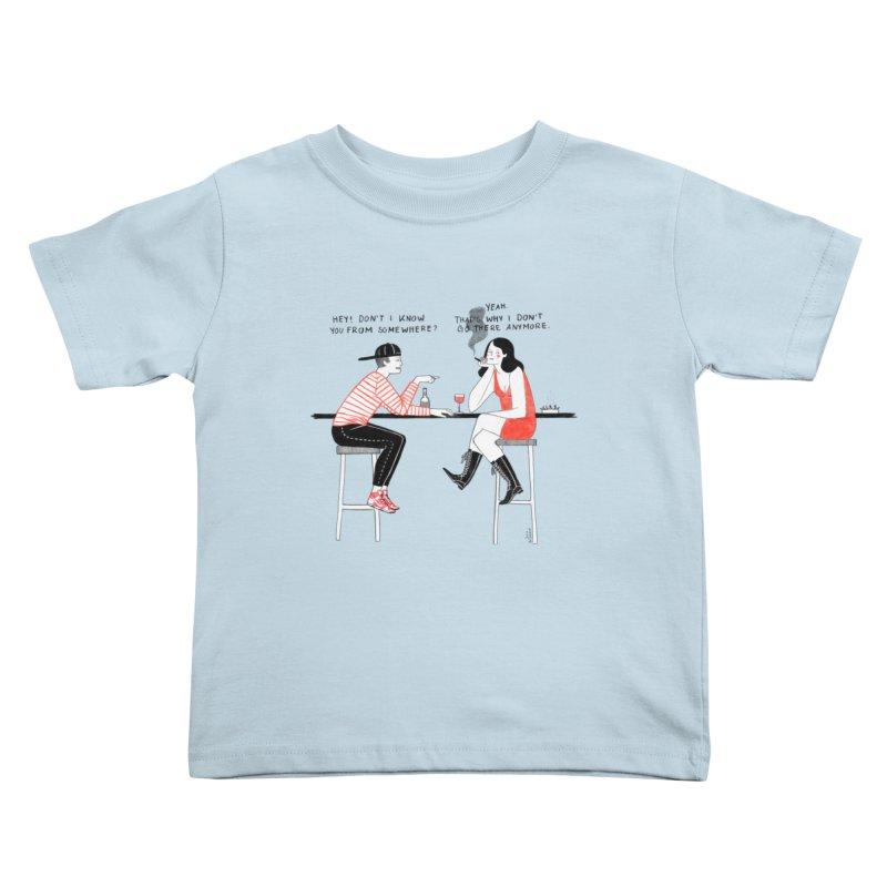Friday Night Kids Toddler T-Shirt by juliabernhard's Artist Shop