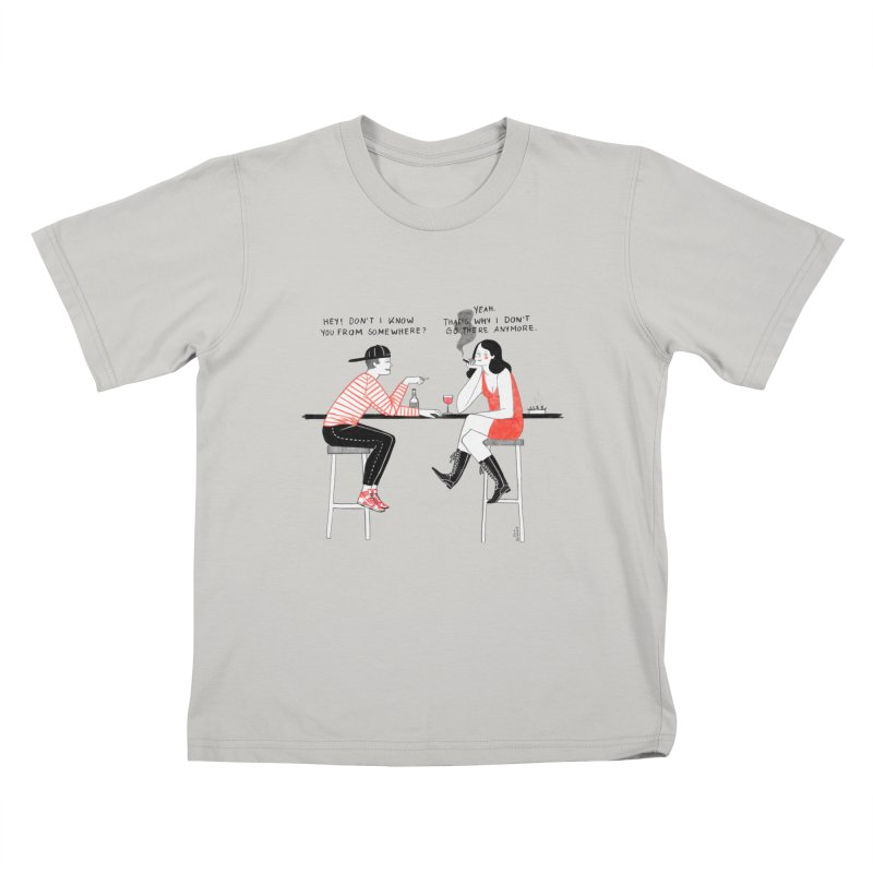 Friday Night Kids T-Shirt by juliabernhard's Artist Shop