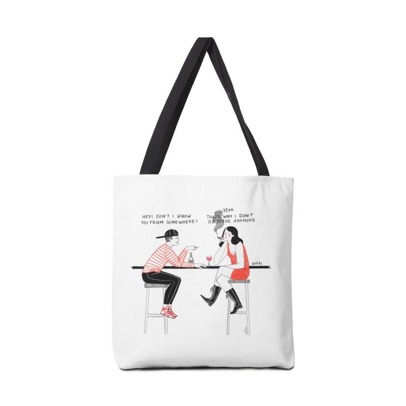 Friday Night Accessories Bag by juliabernhard's Artist Shop