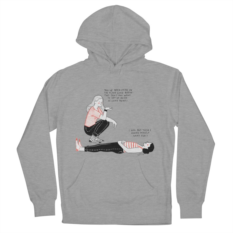 Rise and Shine! Men's French Terry Pullover Hoody by juliabernhard's Artist Shop