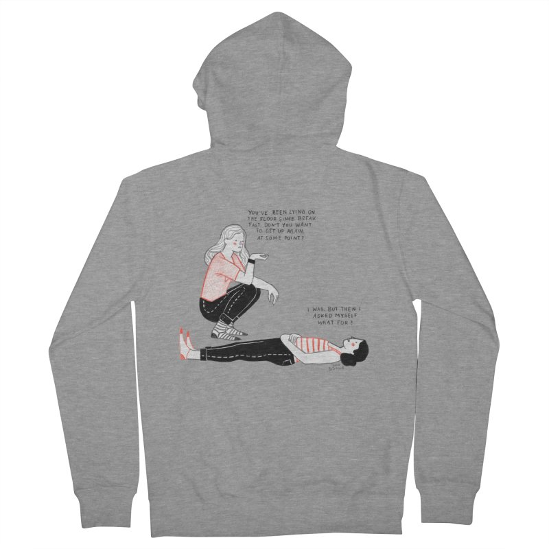 Rise and Shine! Women's French Terry Zip-Up Hoody by juliabernhard's Artist Shop
