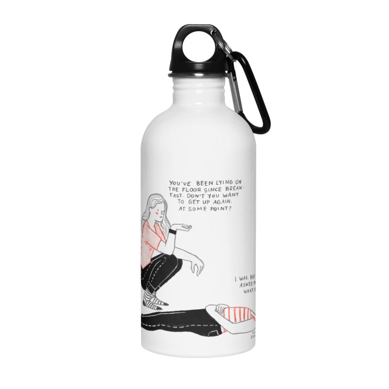 Rise and Shine! Accessories Water Bottle by juliabernhard's Artist Shop