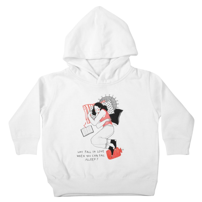 Why Fall in Love? Kids Toddler Pullover Hoody by juliabernhard's Artist Shop